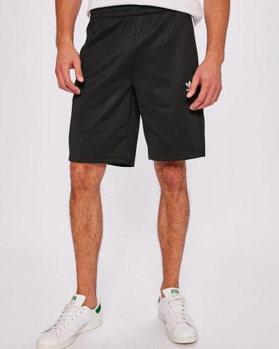 Черные шорты прямые Adidas Originals
