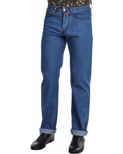Хлопковые джинсы - синие Kiton