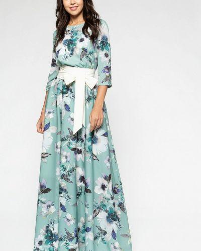 Вечернее платье - бирюзовое Eva