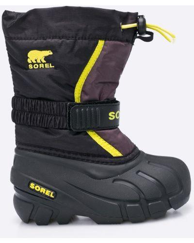 Черные сапоги Sorel