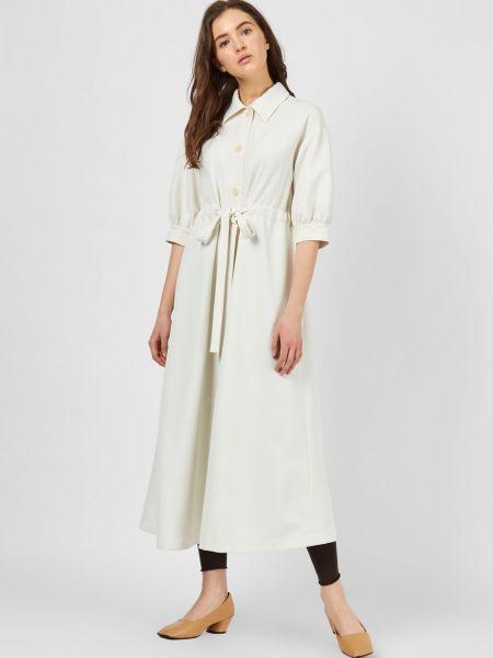 Платье миди с рукавами 12storeez