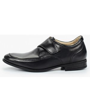 Туфли черные зебра