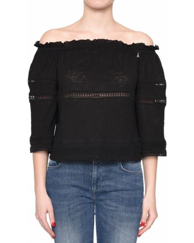 Черная блузка Patrizia Pepe