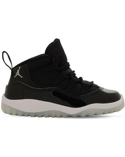 Skórzany czarny sneakersy zabytkowe Nike