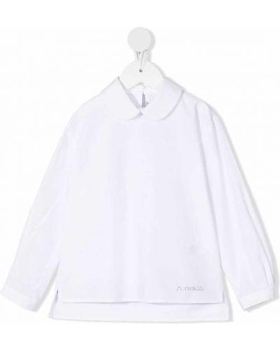 Biała bluzka zapinane na guziki Simonetta