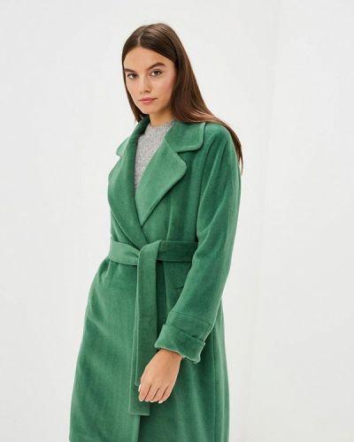 Пальто демисезонное зеленое Immagi