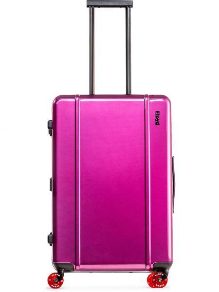 Розовый чемодан Floyd