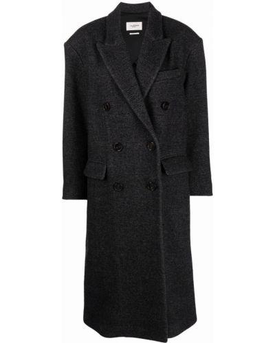 Серое пальто из вискозы Isabel Marant étoile