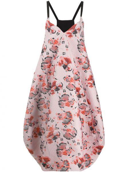 Платье розовое тюльпан Henrik Vibskov
