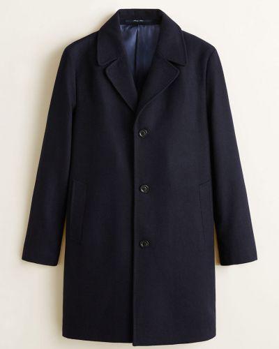 Утепленная куртка на пуговицах в клетку Mango Man