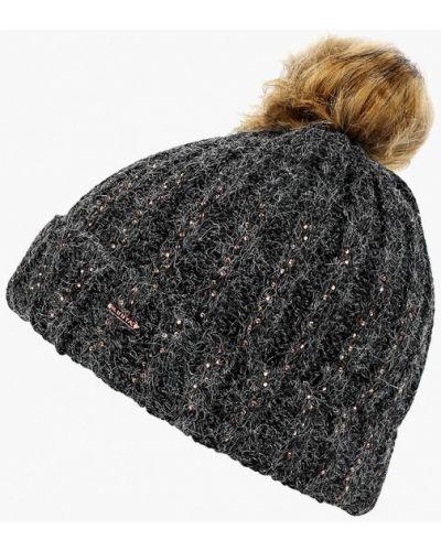Черная шапка осенняя Luhta