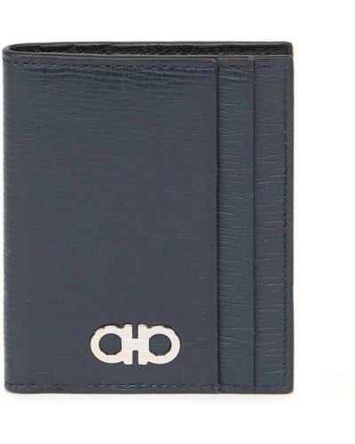 Niebieski portfel Salvatore Ferragamo