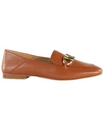Loafers - brązowe Michael Kors