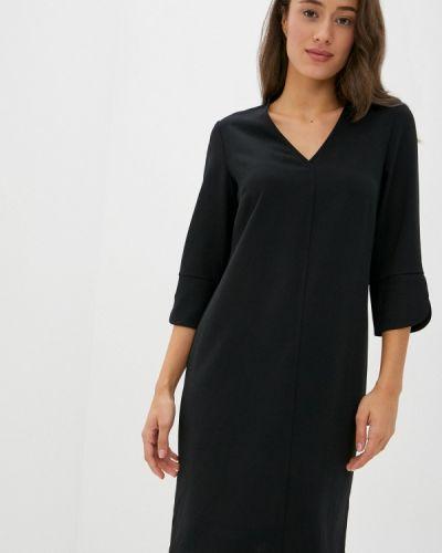 Повседневное черное повседневное платье Marks & Spencer