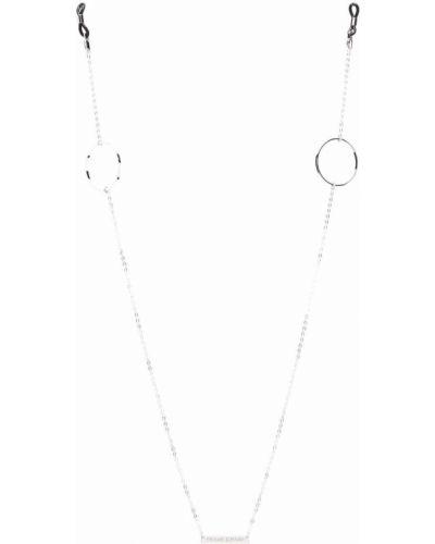 Okulary srebrne Frame Chain