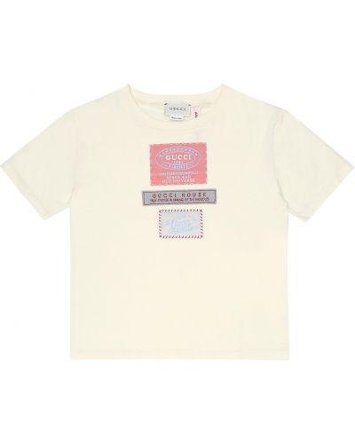 T-shirt z logo Gucci Kids