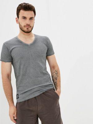 Серая зимняя футболка Hopenlife