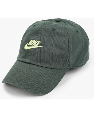 Зеленая бейсболка Nike