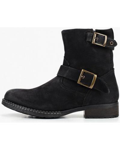 Ботинки осенние черные Pier One