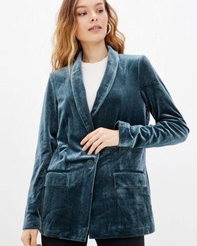 Бирюзовый пиджак осенний Q/s Designed By