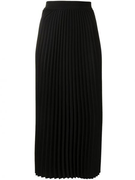 Bawełna z wysokim stanem czarny spódnica midi Co