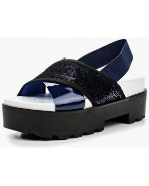 Синие сандалии Grand Style