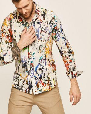 Koszula z długim rękawem klasyczna z obrazem Desigual