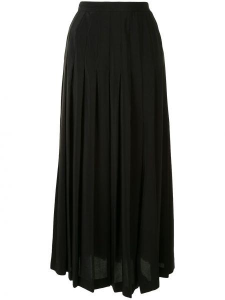 Плиссированная юбка миди с завышенной талией Giambattista Valli