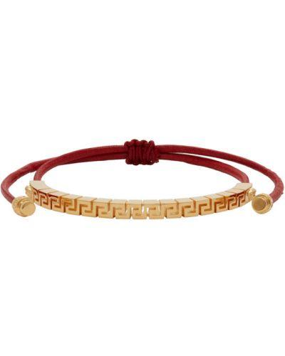 Bawełna bawełna bransoletka ze złota złoto Versace