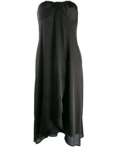 Платье со складками на молнии Federica Tosi