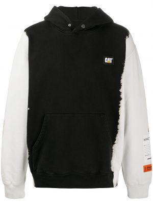 Czarna bluza bawełniana Heron Preston