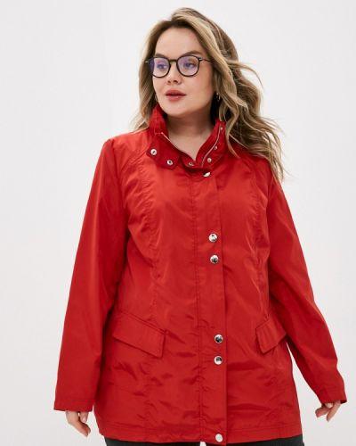 Облегченная красная куртка Ulla Popken