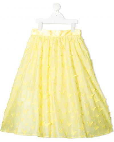 Żółta spódnica bawełniana Charabia