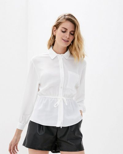 Блузка с длинным рукавом белая Miss Selfridge