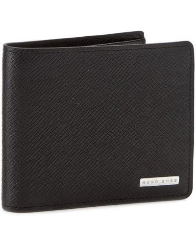 Czarny portfel Boss