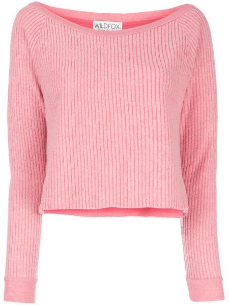 Розовый свитер Wildfox