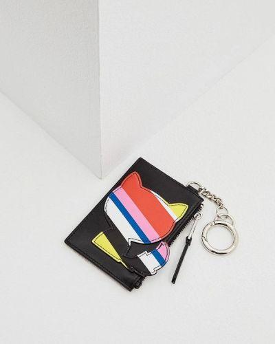Черная ключница металлическая Karl Lagerfeld