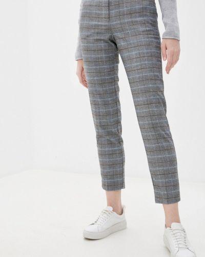 Повседневные серые брюки Zolla