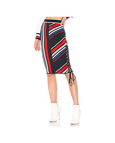 Вязаная юбка на резинке с поясом Tommy Hilfiger