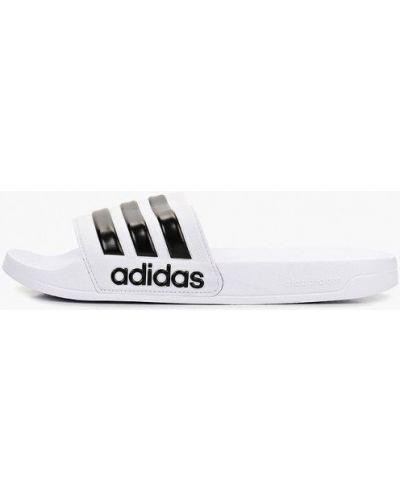 Сланцы белый Adidas