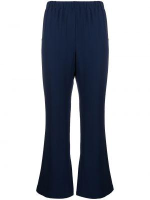 Укороченные брюки - синие Marni