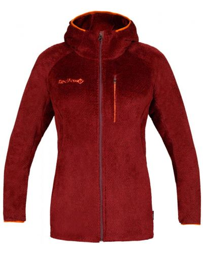 Спортивная красная спортивная куртка на молнии с карманами Red Fox