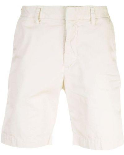 Короткие шорты с карманами белые Save Khaki United