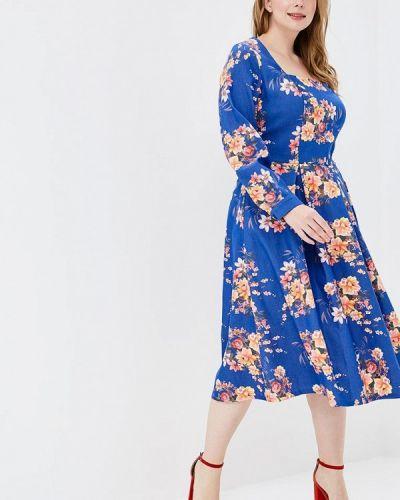 Повседневное платье синее Matilda