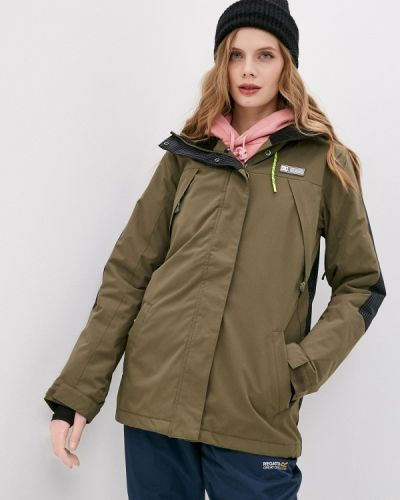 Зеленая куртка горнолыжная Dc Shoes