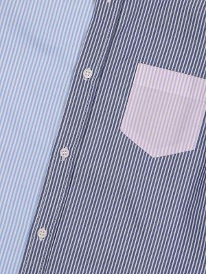 Ватная хлопковая синяя рубашка Il Gufo