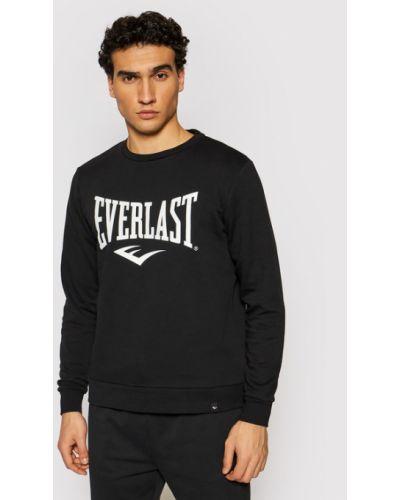 Czarny dres Everlast