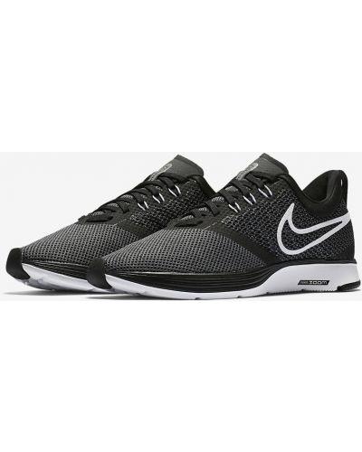 Кроссовки для бега черные текстильные Nike