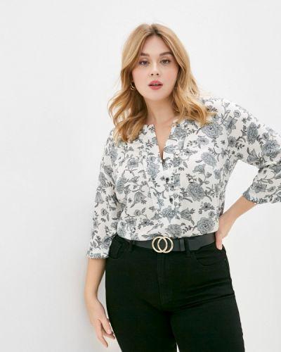 Серая блузка с коротким рукавом с короткими рукавами Balsako