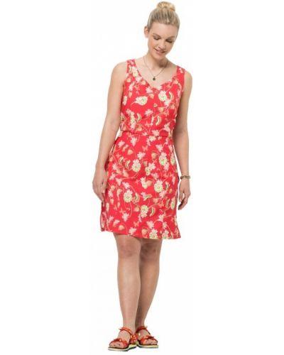 Платье с карманами - красное Jack Wolfskin